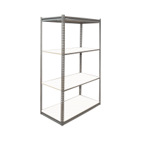 100A Low Profile Boltless Shelving w/ Laminated Board