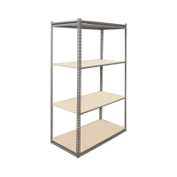100A Low Profile Boltless Shelving w/ Particle Board