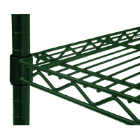 Individual Green NSF Wire Shelf