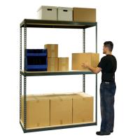 Heavy Duty Boltless Rivet Shelving w/ Wood Decking